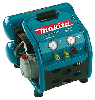 1. Makita MAC2400 Big Bore 2.5 HP Air Compressor
