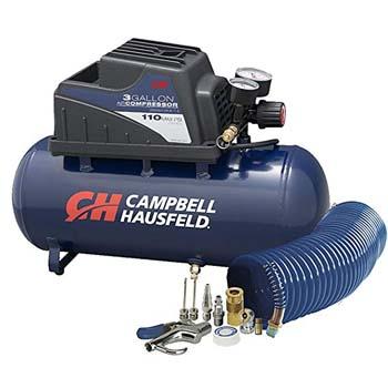 6. Air Compressor w/10 Piece Accessory Kit