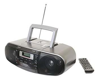 2. Panasonic RX-D55GC-K Boombox