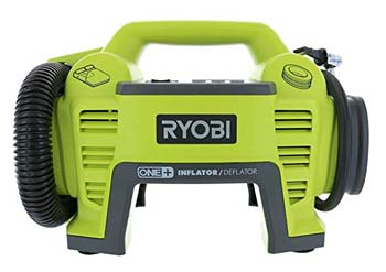 2. Ryobi P731 One+ 18v Dual Function Power Inflator/Deflator