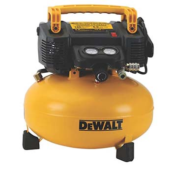 5. DEWALT DWFP55126 6-Gallon 165 PSI