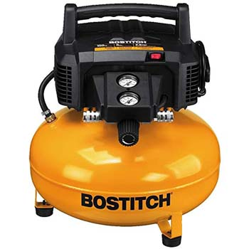 8. Bostitch BTFP02012 6 Gallon 150 PSI