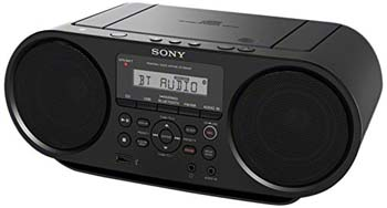 9. Sony ZSRS60BT CD Boombox