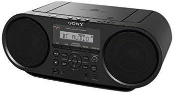 9. Sony ZSRS60BT CD Boombox