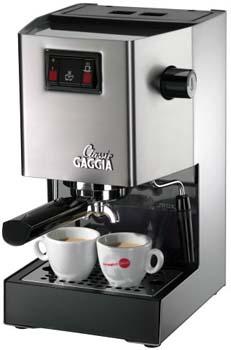 10. Gaggia Classic Semi-Automatic Espresso Maker