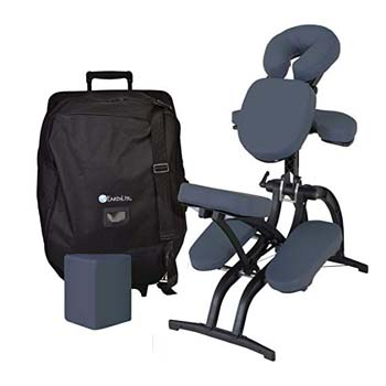 3. EARTHLITE Avila II Portable Massage Chair Package
