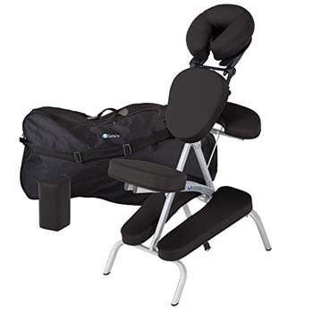 7. Earthlite Vortex Portable Massage Chair Package