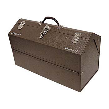 7. Homak Industrial 22-Inch Cantilever Steel Toolbox, Brown Winkle Powder Coat, BW00210220