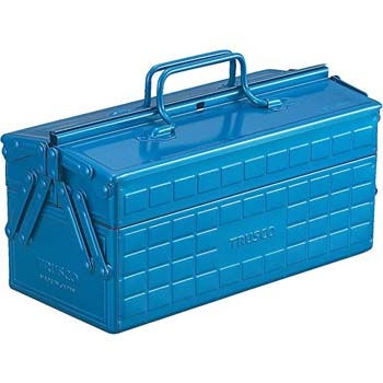 6. Trusco ST-350-B 2-Level Toolbox