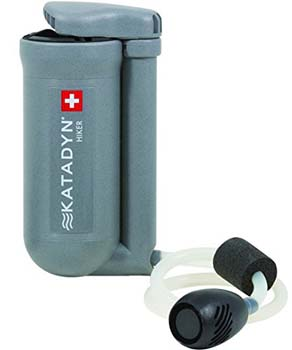 4: Katadyn Hiker Microfilter Water Filter