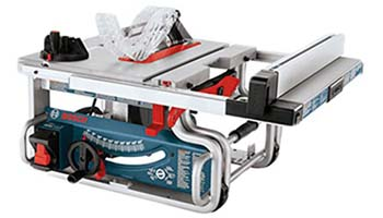 9. Bosch 10-Inch Portable Jobsite Table Saw GTS1031