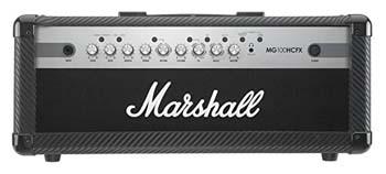 3. Marshall MG100HCFX MG Series 100-Watt Guitar Amp Head