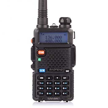 3. BaoFeng UV-5R Dual Band Two Way Radio (Black)