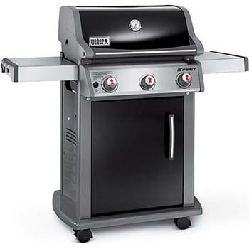 4. Weber 46510001 Spirit E310 Liquid Propane Gas Grill, Black