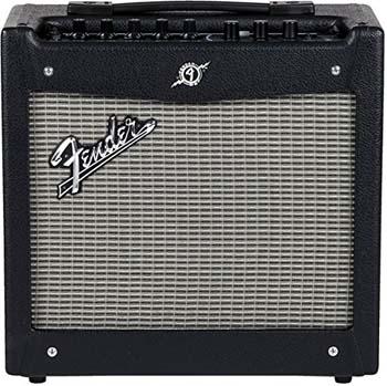 2. Fender Mustang I V2 20-Watt 1x8-Inch Combo Electric Guitar Amplifier