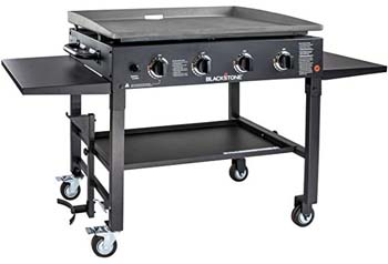 6. Blackstone 36 inch Outdoor Flat Top Gas Grill Griddle Station - 4-burner - Propane Fueled - Restaurant Grade - Professional Quality