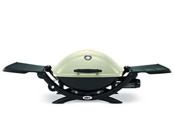 3. Weber 54060001 Q2200 Liquid Propane Grill-Gray