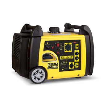 9. Champion 3100-Watt RV Ready Portable Inverter Generator with Wireless Remote Start
