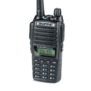 1. BaoFeng UV-82HP High Power Dual Band Radio (UHF) Amateur (Ham) Portable Two-Way