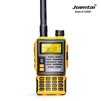6. JUENTAI JT-UV007 Dual-Band Ham Two-Way Radio UHF 400-480Mhz