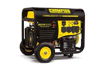 9. Champion 7500-Watt RV Ready Portable Generator with Wireless Remote Start