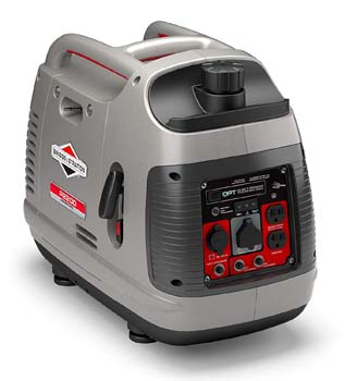 8. Briggs & Stratton 30651 P2200 Power Smart Series Portable 2200-Watt Inverter Generator with Parallel Capability