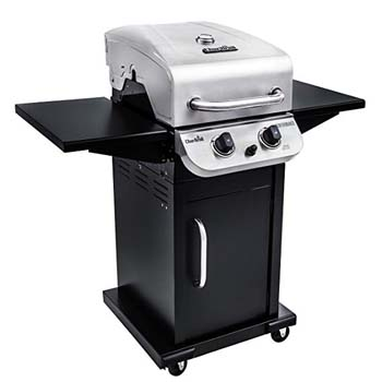 5. Char-Broil Performance 300 2-Burner Cabinet Liquid Propane Gas Grill- Stainless