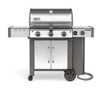 7. Weber 66004001 Genesis II LX S-340 Natural Gas Grill, Stainless Steel