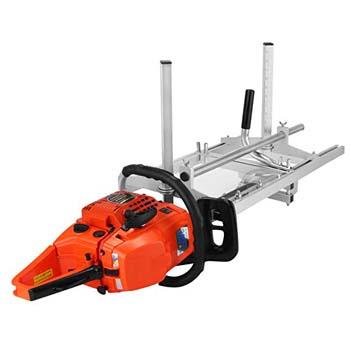 6: LOVSHARE 14-inch - 36-inch Saw Mill Portable Chain Sawmill