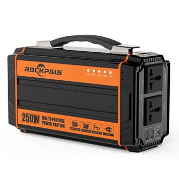 3. Rockpals 250-Watt Portable Generator