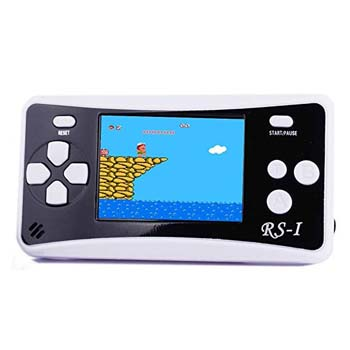 2. JJFUN RS-1 Handheld Game Console for Children, Retro Game Player with 2.5