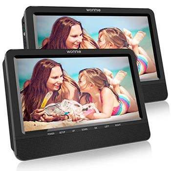 2. WONNIE 7.5 INCH BLACK DUAL SCREEN