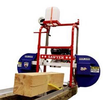 9: Hud-Son Sawyer Portable Sawmill Bandmill Chainsaw Mill