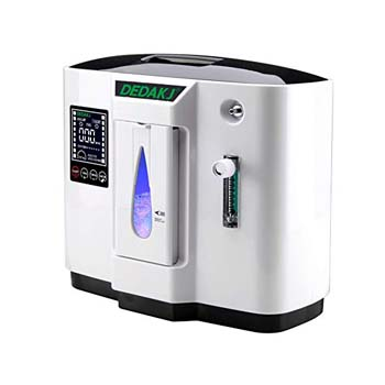 2. HUKOER Top Grade Portable Household Oxygen Concentrator Generator