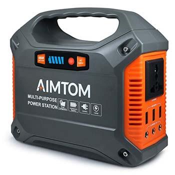 6. AIMTOM Portable Solar Generator