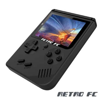 1. Anbernic Handheld Game Console, Game Console 3 Inch 168 Games Retro FC Game Player Emulator