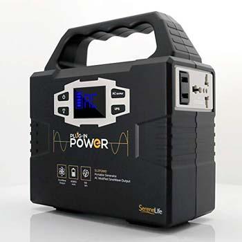 4. SereneLife Portable Generator