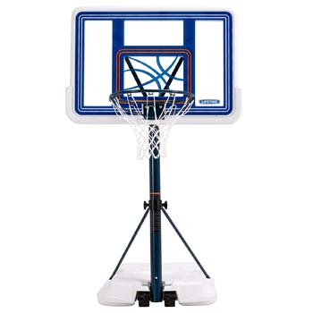 3. Lifetime Pool Side Basketball System