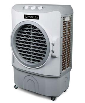 6. Luna comfort EC220W High Power 1650 CFM Evaporative Cooler