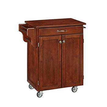 7. Home Styles Cuisine Cart, Finish with a Chery Top