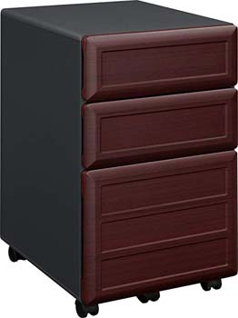 3. Altra Furniture Ameriwood Home Pursuit Mobile File Cabinet, Cherry