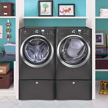 8. Electrolux Laundry Bundle Electrolux EIFLS60LT Washer and EIMED0LT Dryer