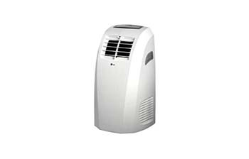 9. LG Electronics 10000 BTU Portable Air Conditioner