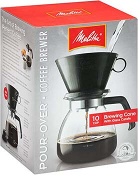 1. Cone Filter Coffeemaker by Melitta