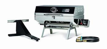 07). Camco 5500 Olympian Stainless Steel With Portable Gas Grill
