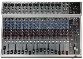 6. Peavey Mixing Console