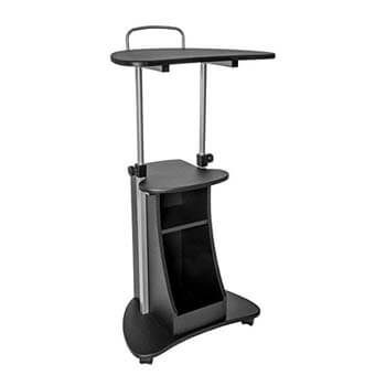 2. Sit-to-Stand Rolling Adjustable Cart