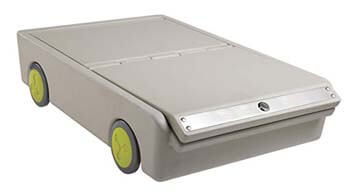 9. ECR4Kids Lock and Roll Portable Bed