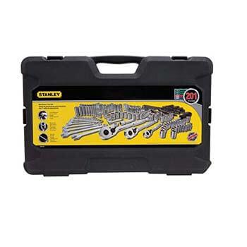 4 Stanley STMT71654 Mechanics Tool Set