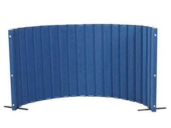 3. Angeles Blueberry Room Dividers